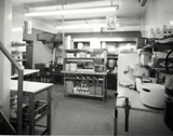 Layout of kitchen during early 70s.